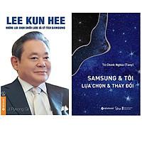 Combo Sách : Lee Kun Hee - Những Lựa Chọn Chiến Lược Và Kỳ Tích Samsung + SamSung & Tôi - Lựa Chọn & Thay Đổi