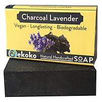 Xà Phòng Handmade Ekoko Charcoal Lavender (100g)