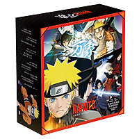 Hộp quà tặng anime Naruto gồm nhiều món đồ độc đáo postcard lomo poster