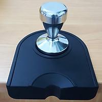 Combo tay nén cà phê Inox và đế lót cao su