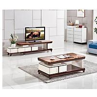 Combo Kệ TiVi, Bàn Sofa Mặt Đá Nhập Khẩu Cao Cấp Klosso CBTV302