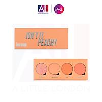Bảng phấn má Revolution Blush Palette Makeup Obsession Isn't It Peachy (Bill Anh)