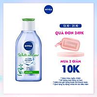 Nước Tẩy Trang Nivea Kiểm Soát Nhờn White Oil Clear Micellar Water (400Ml) - 84212