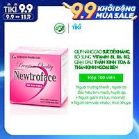 Viên uống TPCN NEWTROFACE viên nang mềm - Robinson Pharma usa - giúp nâng cao sức đề kháng,bổ sung vitamin B1,B6,B12 - hộp 100 viên