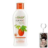 Sữa dưỡng thể tinh chất từ gấc Mistine Natural Body Lotion Fuk Kao Thái Lan 200ml tăng móc khóa