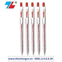Combo 5 cây bút bi Thiên Long - TL079 mực đỏ