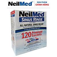 Gói Hỗn Hợp Muối Rửa Mũi Xoang Người Lớn NeilMed SinusRinse Adult Sachets - Xuất xứ Mỹ (Hộp 120 gói)