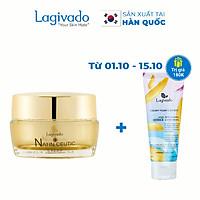 Kem dưỡng ẩm trắng da mặt HÀN QUỐC LAGIVADO, giúp da trẻ hoá NATIN CEUTIC CREAM 50 gram