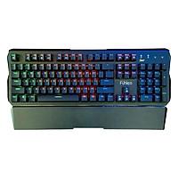 Bàn Phím Gaming Có Dây Fuhlen D Destroyer Mechanical Blue Switch (Black) - Hàng chính hãng