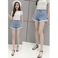 Quần Short Jeans Nữ, Quần Short Nữ Tua Rua