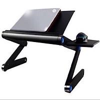 Bàn laptop điều chỉnh được độ cao 2 quạt tản nhiệt tiện dụng Prolap-919