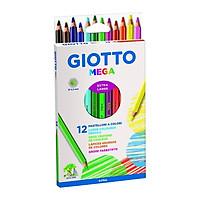 Bút Chì Màu Giotto Mega 225600 (12 Màu/Hộp)