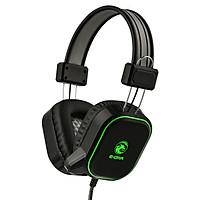 Tai nghe gaming E-Dra EH401 Jack 3.5mm + USB LED - Hàng chính hãng
