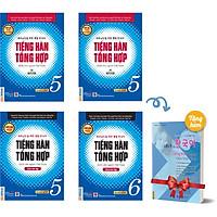 Combo 4 Cuốn Tiếng Hàn Tổng Hợp Dành Cho Người Việt Nam - Cao Cấp 5&6 - Phiên Bản Mới In Màu (Tặng Kèm Cuốn Vui Học Tiếng Hàn Cùng Châu Thùy Trang)