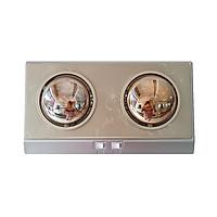Đèn Sưởi ABG CH-A2D 2 Bóng Sưởi, Sưởi Ấm Nhà Tắm, Phòng Ngủ, Phòng Khách - Hàng Chính Hãng