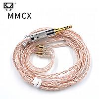 Tai nghe KZ Đồng bạc hỗn hợp Mạ nâng cấp Cáp tai nghe Cáp tai nghe Hifi Dây tai nghe với đầu nối MMCX / 2 pin cho tai nghe SE846 SE535 UE900 dành cho ZST ZS10 ZS10 ES3 ES4 AS10 BA10 ZS6 ZS5 ZS3
