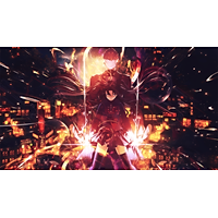 Poster A4 dán tường Anime, decal 21x30 trang trí có keo FateStay Night Unlimited Blade Works Wallpapers (4).png