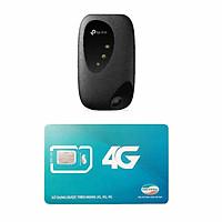 Bộ Phát Wifi TP Link M7200 4G Mới Nhất + Sim Viettel Trọn Gói 12 Tháng 7GB/tháng tốc độ cao - Hàng chính hãng