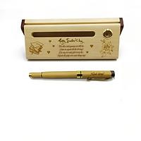 Bộ bút gỗ cao cấp tặng Thầy Cô_mẫu 04