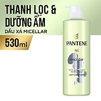 Bộ Đôi Pantene Micellar Hương Hoa Súng (Dầu Gội 530ml + Kem Xả 530ml) - Làm sạch sâu - Nuôi dưỡng tóc