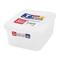 Hộp thực phẩm vuông có giá lót, nắp mềm Nakaya 1100ml Nội địa Nhật Bản