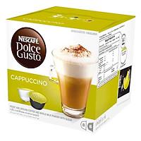 Hộp 16 Viên Nén Cà Phê Sữa Nescafe Dolce Gusto - Cappuccino (200g)
