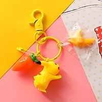 Móc Khóa Pikachu 3D Trang Trí Ba Lô Cặp Táp