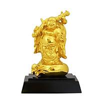 Tượng Đức Phật Di Lặc đứng mạ vàng  - Quà tặng cho bạn bè, đối tác, người thân, những người thích về phật pháp.