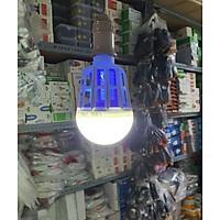 Bóng đèn LED 15w, đui E27 AC 150-220V, chức năng chiếu sáng kiêm sát thủ diệt muỗi và côn trùng