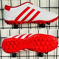 Giày Đá Banh MS37 Trắng Đỏ