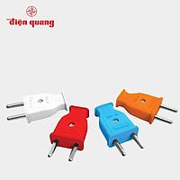 Set 5 Phích cắm Điện Quang ECO EP01 (chân tròn, màu ngẫu nhiên)