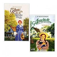Combo 2 cuốnANNE TÓC ĐỎ VÀ NGÔI NHÀ MƠ ƯỚC+ANNE TÓC ĐỎ DƯỚI CHÁI NHÀ XANH( Tặng kèm bookmark thiết kế)