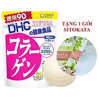 Viên Uống Collagen DHC Nhật Bản 90 Ngày (Tặng Kèm 1 Gói Bột Cần Tây Sitokata)