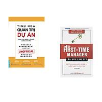 Combo 2 cuốn sách: Tinh Hoa Quản Trị Dự Án + Lần Đầu Làm Sếp