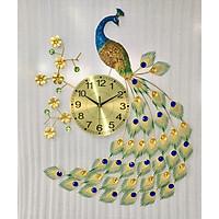 Đồng hồ trang trí chim công 1809