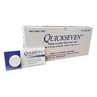 Combo 4 que thử thai Quickseven