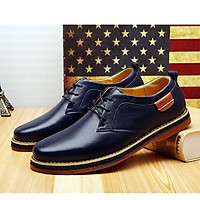 Giày lười da thật nam phong cách Hàn Quốc đẹp cá tính mạnh mẽ - Mã 22977