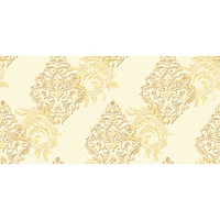Giấy dán tường Hàn Quốc họa tiết cổ điển màu vàng - 88112-2
