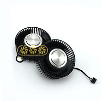4pin 12V GPU Fan For MSI GeForce GTX 980Ti Founders Edition Cooling Fans