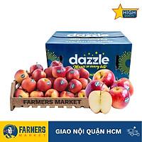 [Chỉ Giao HCM] - Táo Dazzle New Zealand size 100-110 (1Kg). Vị ngọt, giòn với thịt chắc màu trắng sữa, là một trong những đặc sản táo của hoàng gia New Zealand, được xếp vào hàng ngũ những loại táo ngon của thế giới.