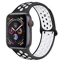 Dây Đeo Thay Thế Cho Đồng Hồ Thông Minh Apple Watch Series 1 / 2 / 3 / 4 / 5 ( Size 42 / 44 mm ) - Dây 2 Màu