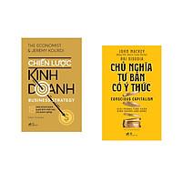 Combo 2 cuốn sách: Chiến lược kinh doanh  + Chủ nghĩa tư bản có ý thức