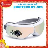Máy Massage Mắt Cao Cấp KINGTECH KY-925 - Mát xa Áp Suất Túi Khí Kèm Nhiệt - Tích Hợp Nghe Nhạc Bluetooth -  Giảm Mỏi, Khô Mắt, Quầng Thâm - Cải Thiện Giấc Ngủ - Hàng Chính Hãng