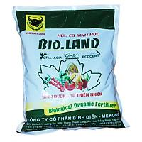 Phân hữu cơ sinh học Bio Land có nguồn Humic tự nhiên (gói 1kg)