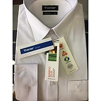 Áo trắng vải sợi tre
