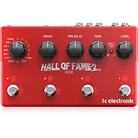 TC Electronic Hall Of Fame 2 X4 Reverb Guitar Effects Pedal -Hàng Chính Hãng