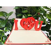 Thiệp 3D Tình yêu - Thanh Toàn - Anh Yêu Em - NCN110