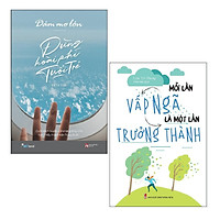 Sách - Combo: Dám Mơ Lớn Đừng Hoài Phí Tuổi Trẻ + Mỗi Lần Vấp Ngã Là Một Lần Trưởng Thành (2 cuốn)