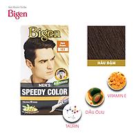 Thuốc nhuộm dưỡng tóc phủ bạc thảo dược Bigen Men Thương hiệu Nhật Bản 80ml dạng kem