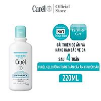 Gel Dưỡng Toàn Thân Cấp Ẩm Chuyên Sâu Curel Intensive Moisture Care Gel-Lotion (220ml)